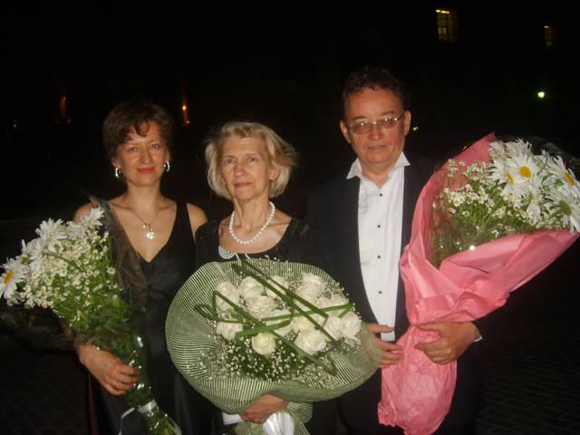 My parents- pianist and ticher Natalya Gienko and Conductor Victor Medyulyanov